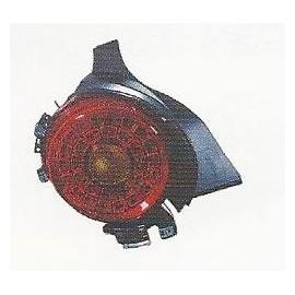 PLASTICO TRASERO IZD LED